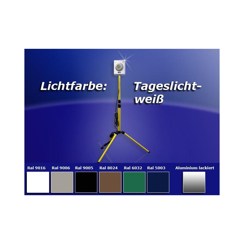 amgosun 100w led strahler fluter in verschiedenen farben mit stativ. Black Bedroom Furniture Sets. Home Design Ideas