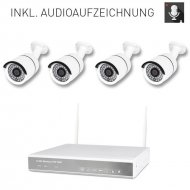 Audio 4-channel wireless DVR 634A-2 AMGoCam AP video...