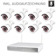 8-channel WLAN DVR 638-2 AMGoCam P Video surveillance...