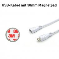 Extension cable for increasing the range of the Smart-Home radio socket outlet