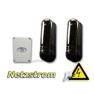 Bluetosec transmitter with double beam IR light barrier 100m (mains current)