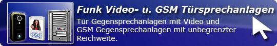 Funk Video GSM Türsprechanlage